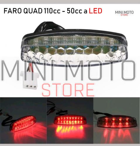 Stop a led Nuovo Quad 50 cc 110 cc Atv light